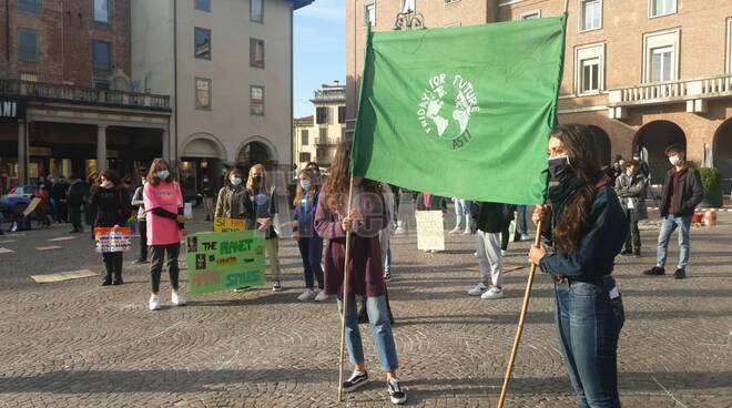 Fridays For Future asti 9 ottobre