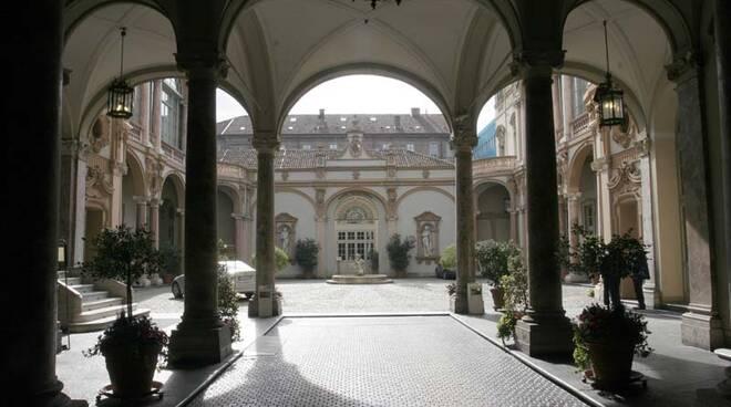 Palazzo Lascaris sede del Consiglio regionale del Piemonte, cortile