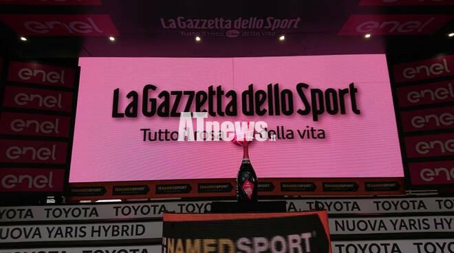 Giro d'Italia 2020 ad asti