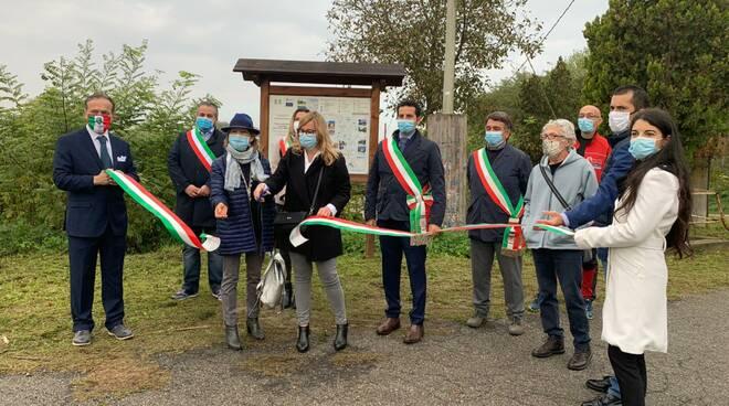 inaugurazione percorso escursionistico castelnuovo belbo bruno mombaruzzo
