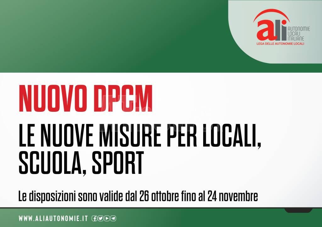infografiche dpcm 25102020