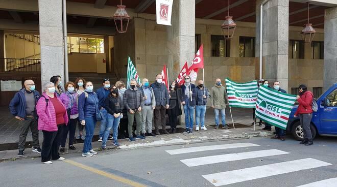 Manifestazione sindacati scuola