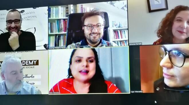 Mattana ospite TV brasiliana