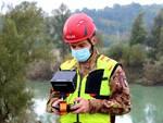 Monitoraggio Tanaro con droni militari