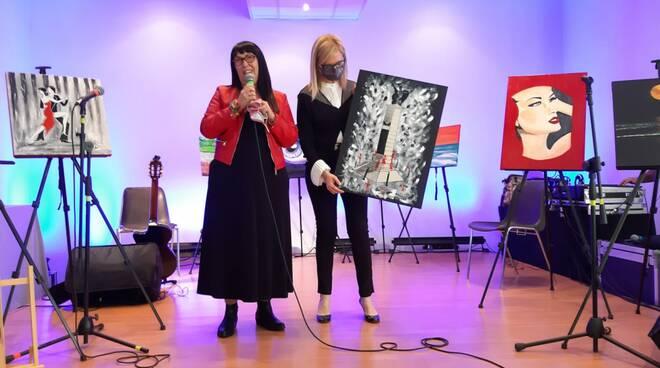 Mostra pittrice Daniela Bussolino a Castello d'Annone