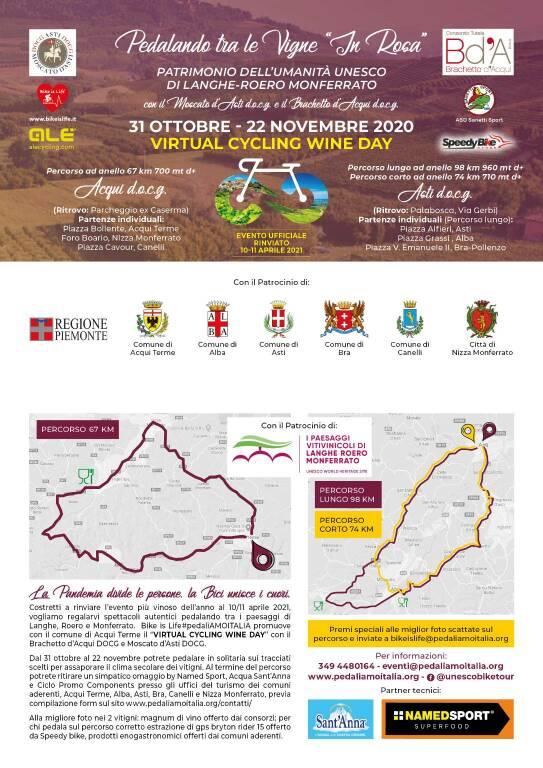Pedalando nell'Unesco, Tra Langhe Roero e Monferrato