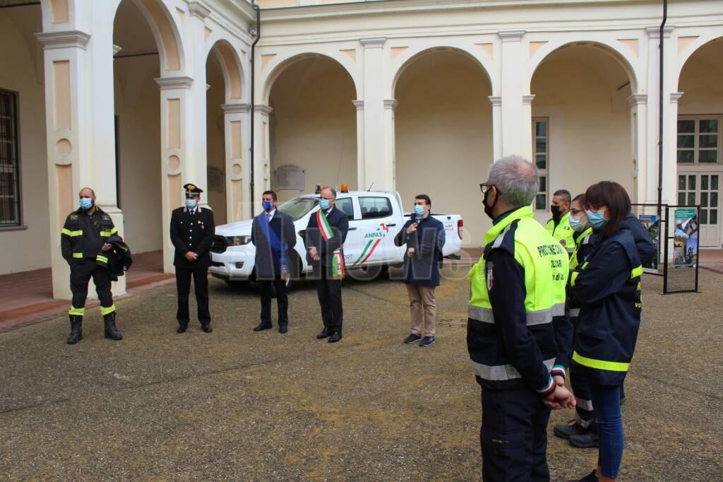 Presentazione nuovo pickup protezione civile Asti