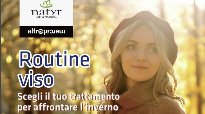 promozione natyr  viso benessere d'autunno