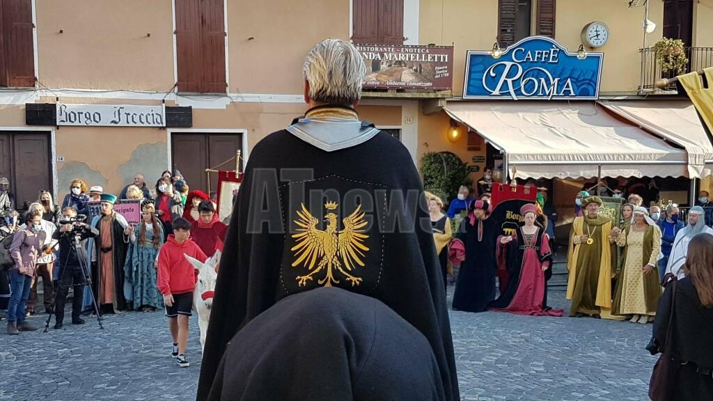 """Registrazione de """"Il Borgo dei Borghi"""" a Cocconato"""