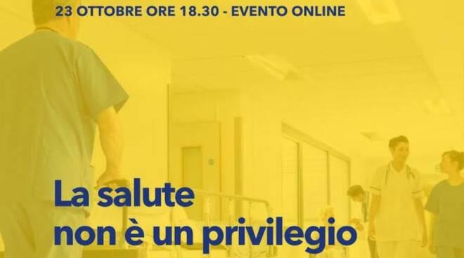 Salute, venerdì dibattito online con Mauro Salizzoni organnizzato dal PD di Asti