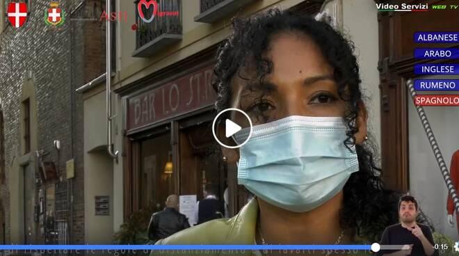 Appello multilingue: indossa la mascherina Cosa fare per non contagiare e non contagiarsi