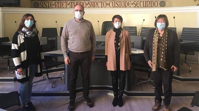 Asti, ricevuto in Municipio Presidente Soroptimist