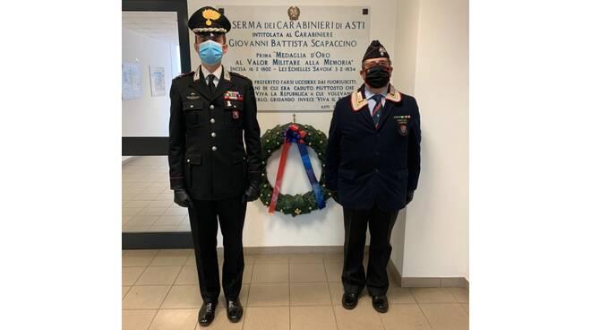 commemorazione caduti carabinieri asti 2 novembre 2020