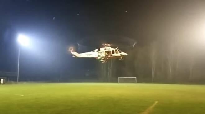 inaugurazione campo atterraggio elisoccorso castelnuovo belbo
