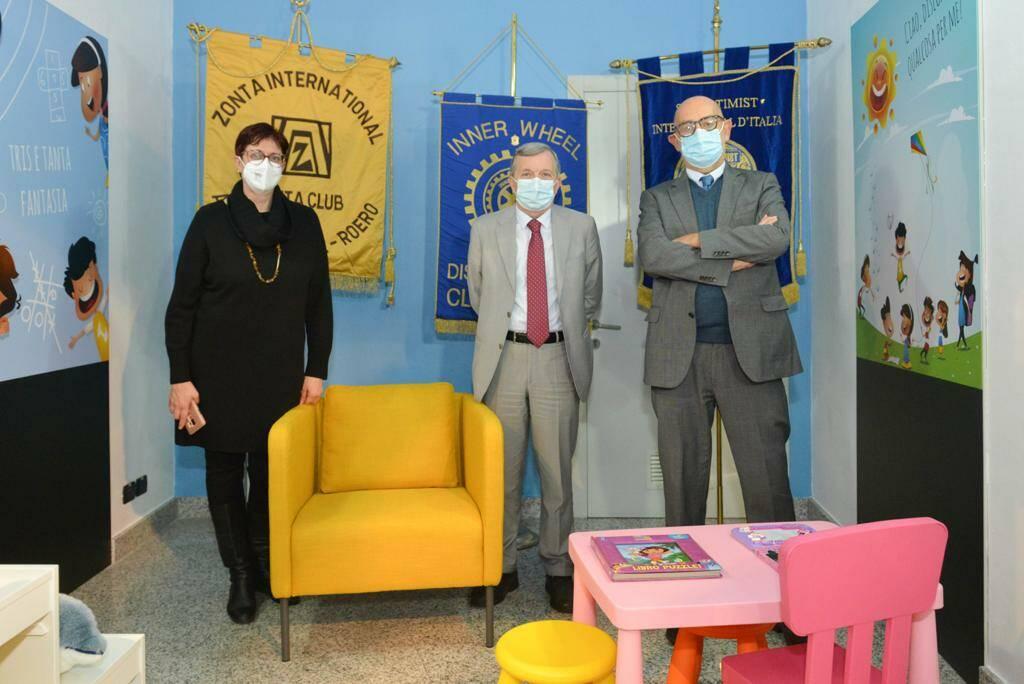 Inaugurazione stanza genitorialità - Asti