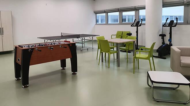 Nuovo Ospedale di Alba e Bra, allestita L'area Ricreativa Psichiatrica