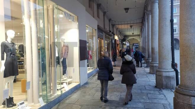 Primo giorno zona arancione ad Asti