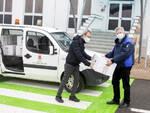 A Villanova d'Asti arrivano 13 pacchi dono dalla multinazionale BASF