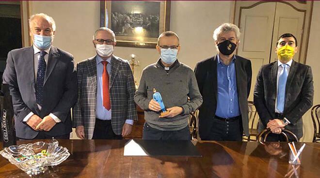 """Asti, """"L'Infermiera è il nuovo personaggio del presepe 2020"""""""