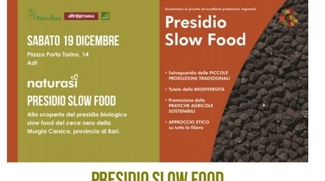 cece nero presidio slow food