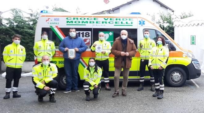 donazione lions club alfieri asti croce verde mombercelli