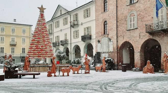I ragazzi del C.I.S.A. colorano il Natale 2020 di Nizza Monferrato