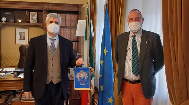 Marco Montagnani e Alfonso Terribile