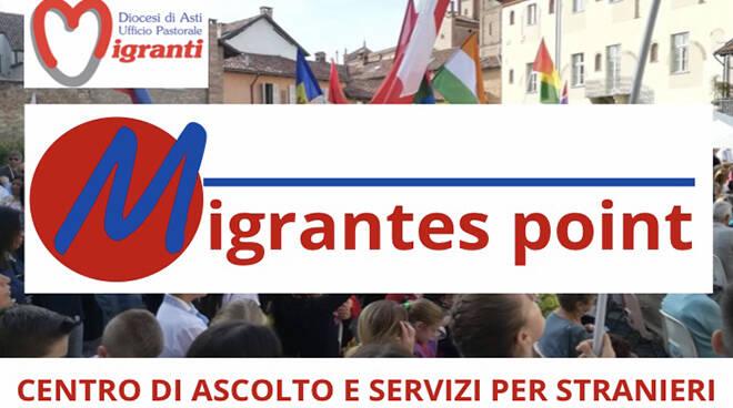 migrantes , punto di ascolto