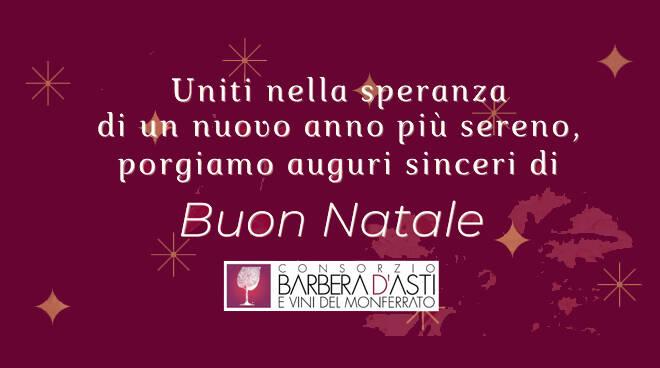 Natale 2020, gli auguri del Consorzio Barbera d'Asti e Vini del Monferrato