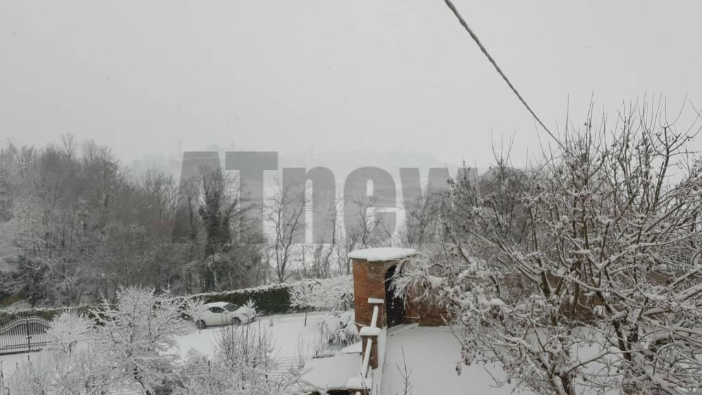 Neve nell'Astigiano 28122020 Moncalvo
