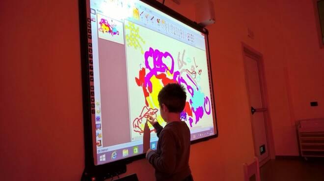 Scuola, 5 nuovi schermi multimediali a Santo Stefano Belbo
