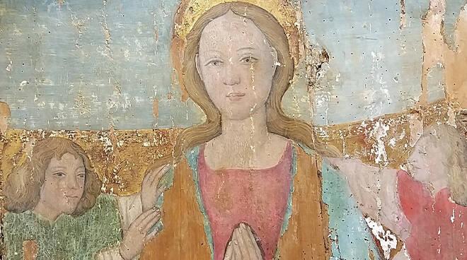 Tavole Chiesa Santa Maria di Vezzolano