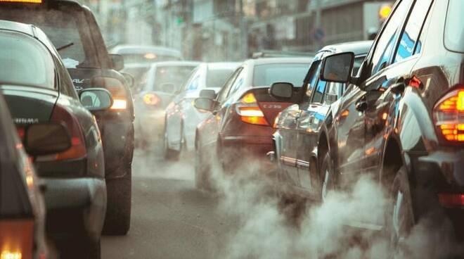 traffico, smog, inquinamento,