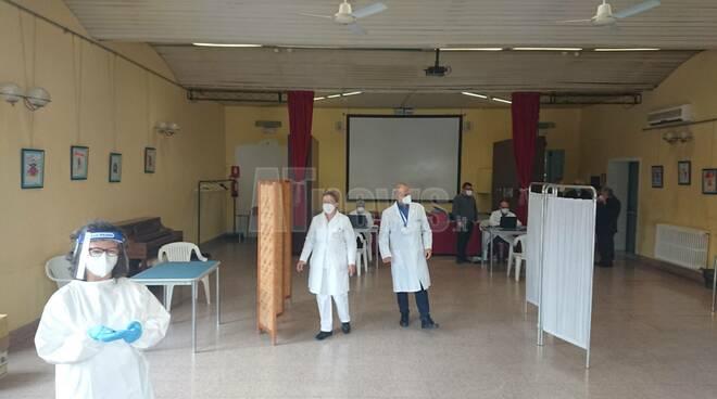 Vaccinazione anti-Covid Asti v-day