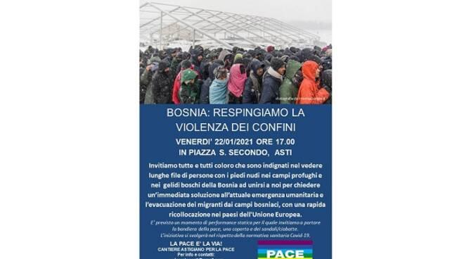 cantiere per la pace asti presidio bosnia