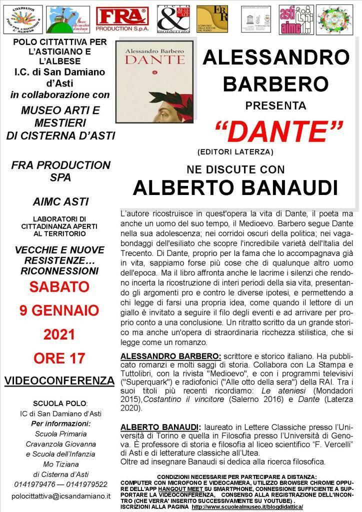 Cittattiva, alessandro Barbero: Dante