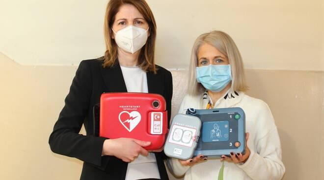 defibrillatore scuole villafranca d'asti