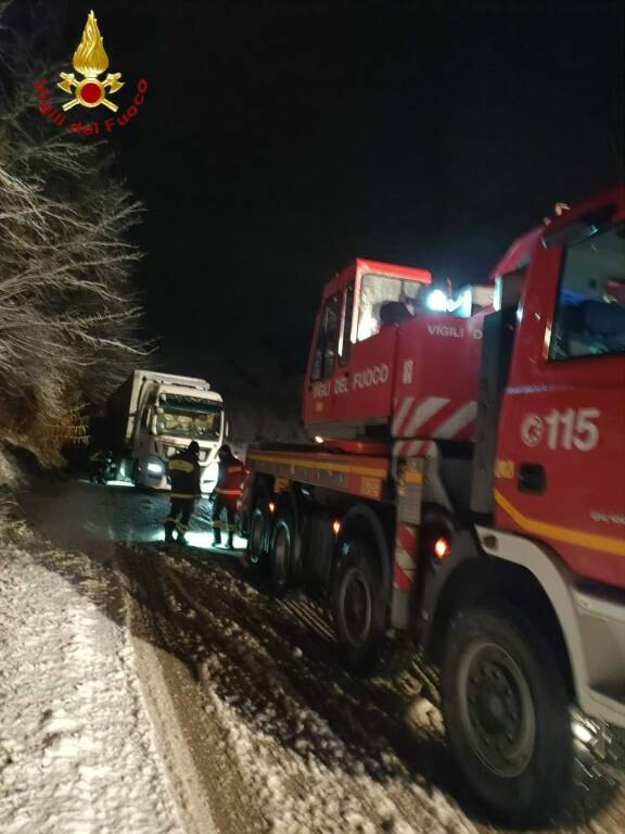 Incidente Camion San Martino Alfieri