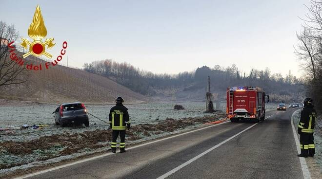 incidente castagnole monferrato