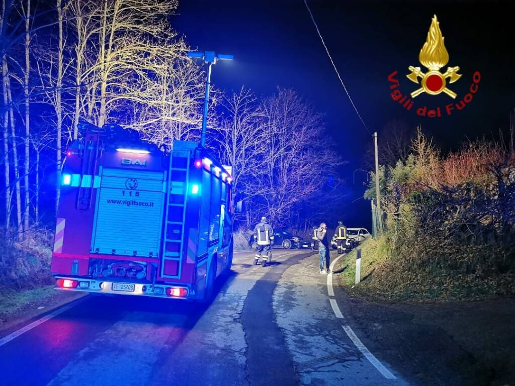 incidente strada valgera