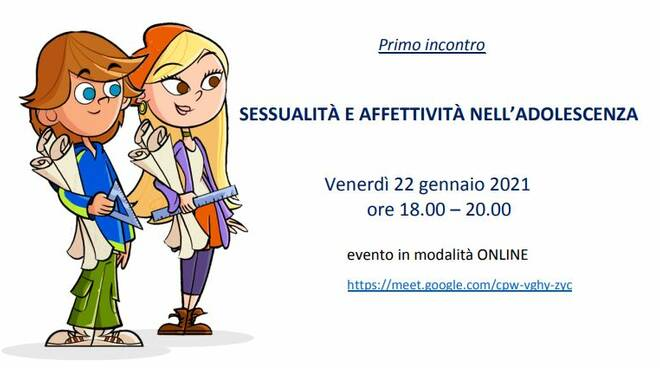 """Progetto """"Spazio Famiglia"""": con il Consultorio """"Familiare Francesca Baggio"""" tre incontri online"""