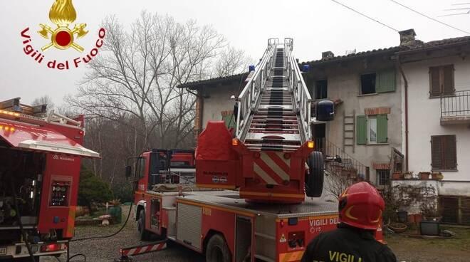 vigili del fuoco revignano