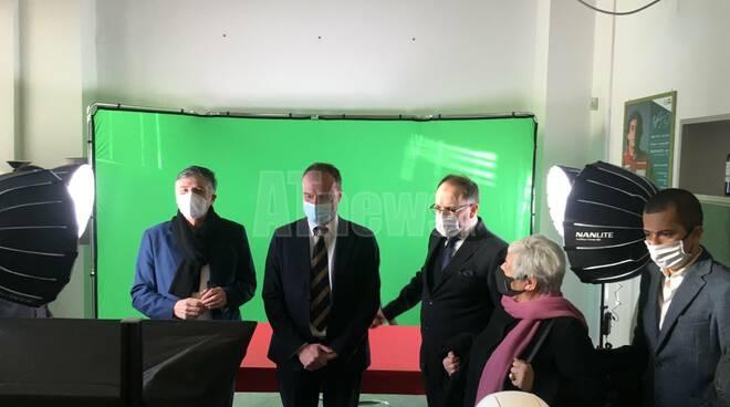 Visita Rettore Stefano Geuna a polo universitario Asti
