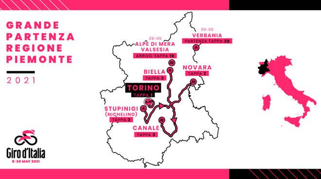 104 giro italia tappe piemontesi