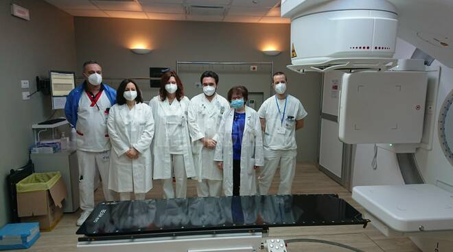 acceleratore lineare radioterapia ospedale asti