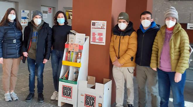 Asti, Palazzo Mandela si arricchisce di un punto di raccolta libri del progetto book box