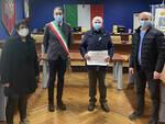Canelli, riconoscimento dell'Amministrazione a Beppe Gandolfo volontario Fidas