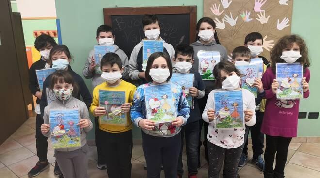 Mombello Monferrato, San Valentino alla scola primaria