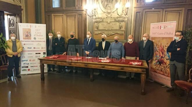 Conferenza stampa comitato tappa giro d'italia