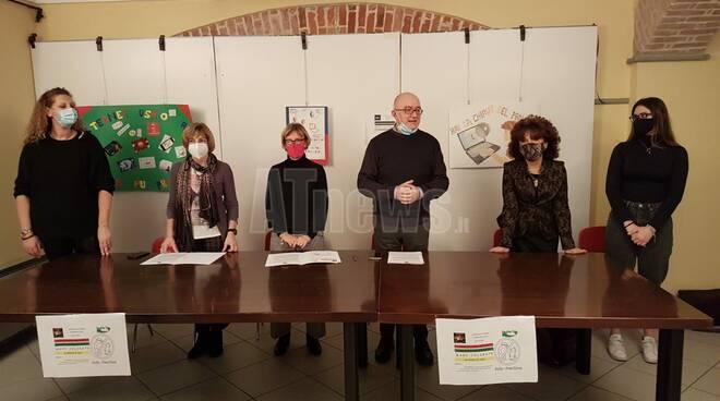 conferenza stampa convenzione castigliano e mani pulite